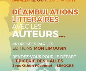 Déambulations Littéraires Limoges 2019